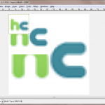 Editing a favicon in GIMP