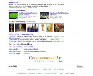 Goooooal on Google