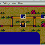 Iron Hike as shown on GameBoy Online emulator