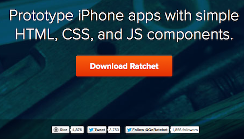 Ratchet and AngularJS development