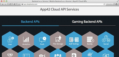 app42 cloud on htmlcenter.com